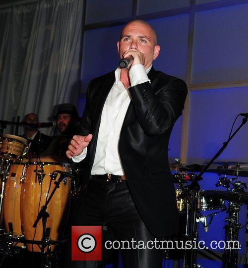 Pitbull  performs at The Blacks Annual Gala...