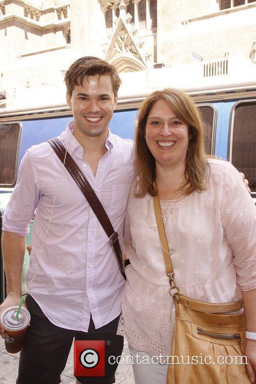 Andrew Rannells and Anne Garafino The Broadway musical...