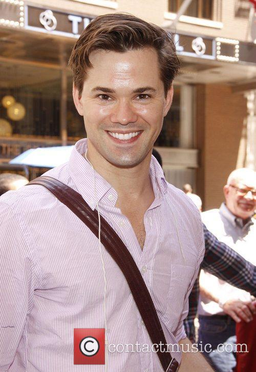 Andrew Rannells The Broadway musical production of 'The...