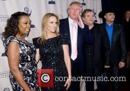 Star Jones Reynolds, Donald Trump, John Rich, Marlee Matlin and Meatloaf 5