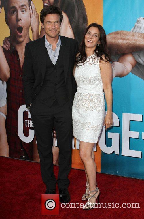 Jason Bateman and Amanda Anka The Change-Up Los...