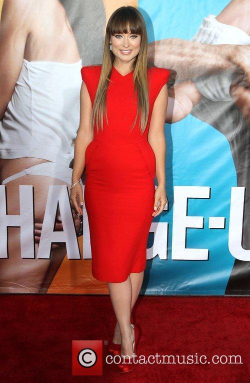 Olivia Wilde The Change-Up Los Angeles Premiere held...