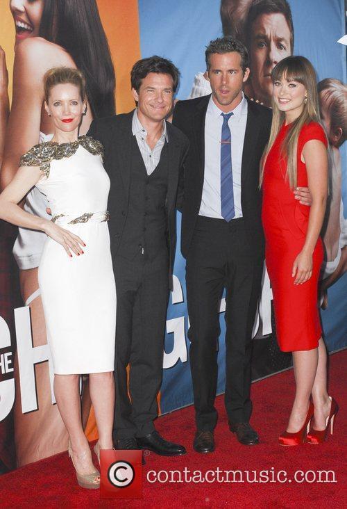 Leslie Mann, Jason Bateman, Ryan Reynolds and Olivia...