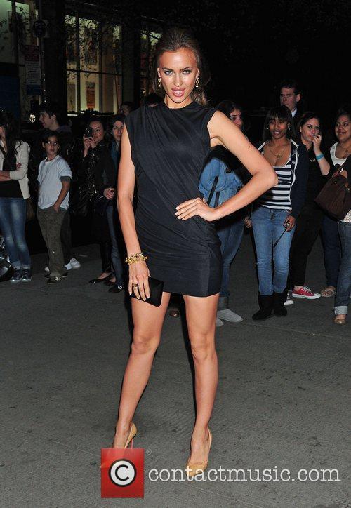 Irina Shayk,  at the New York Premiere...