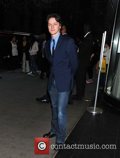 James McAvoy,  at the New York Premiere...
