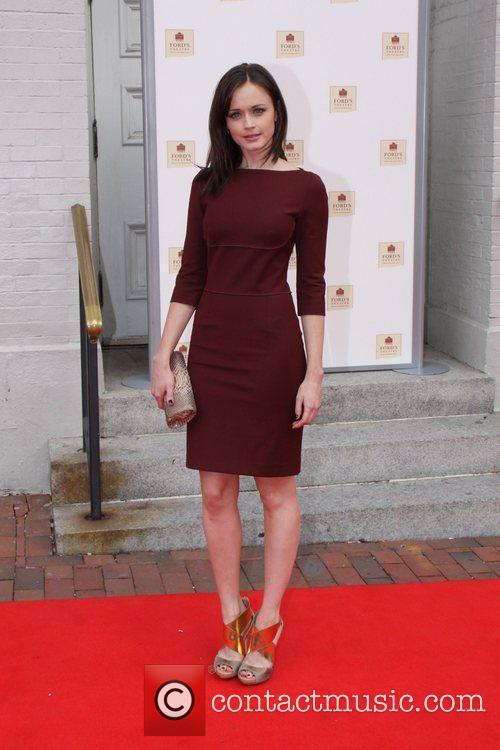 Alexis Bledel World Premiere of the The Conspirator...