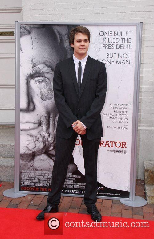 Johnny Simmons World Premiere of the The Conspirator...