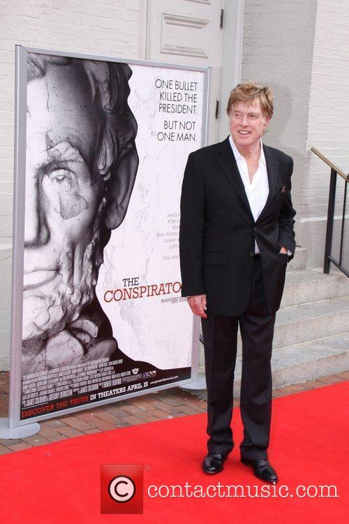 Robert Redford World Premiere of the The Conspirator...