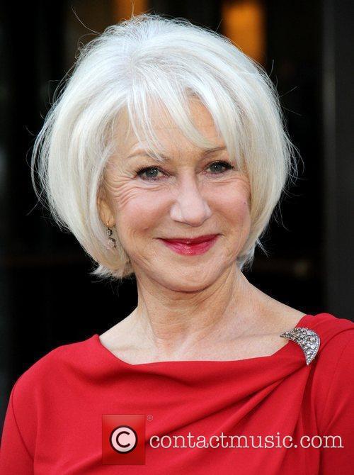 Helen Mirren Screening of 'The Debt' held at...
