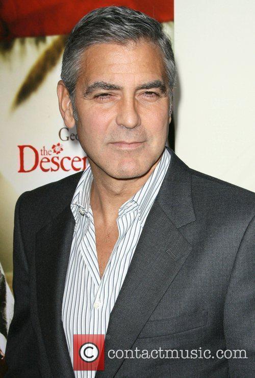 George Clooney The Descendants Los Angeles Premiere held...