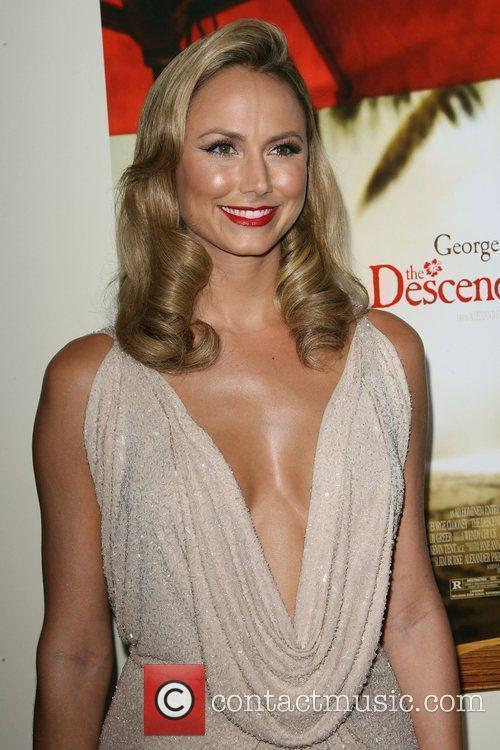 Stacy Keibler The Descendants Los Angeles Premiere held...