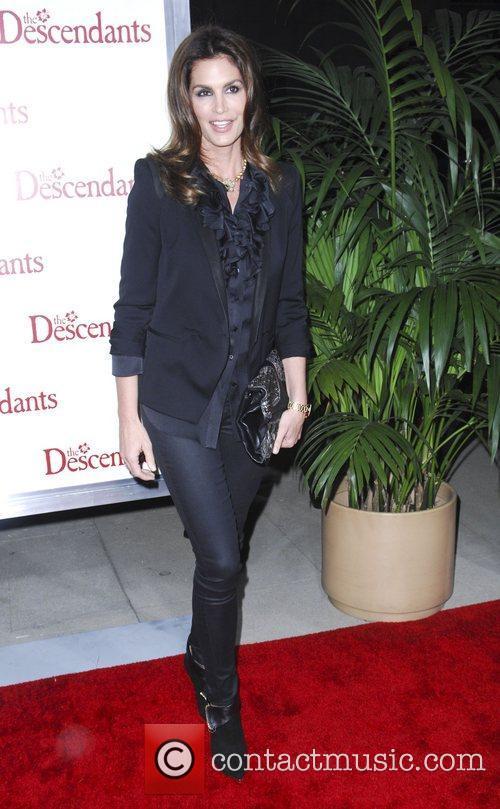 Cindy Crawford  The Descendants Los Angeles Premiere...