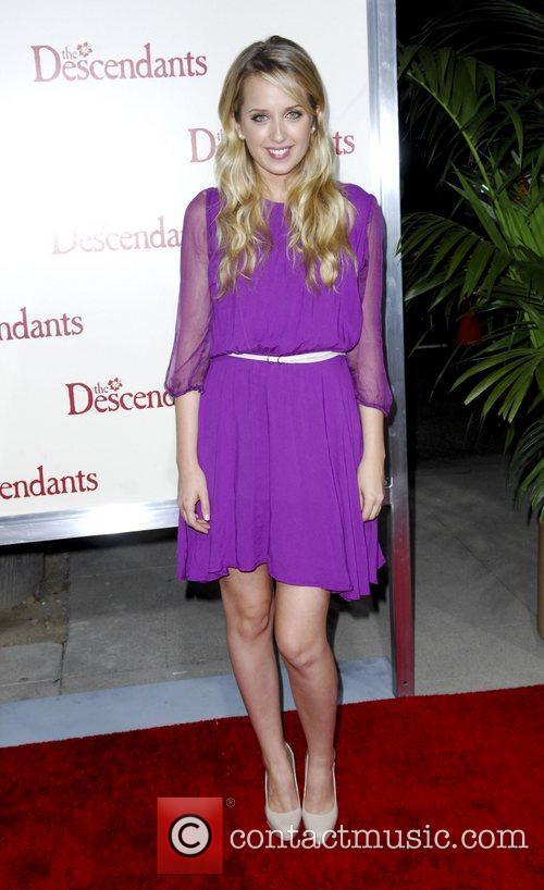 Megan Park  The Descendants Los Angeles Premiere...