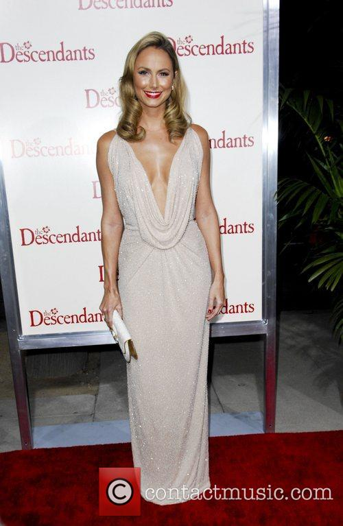 Stacy Keibler  The Descendants Los Angeles Premiere...