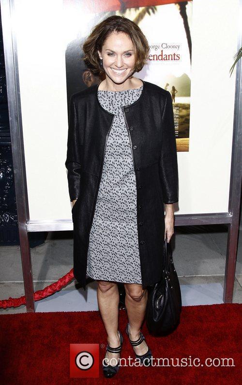 Amy Brenneman Premiere of 'The Descendants' at Samuel...