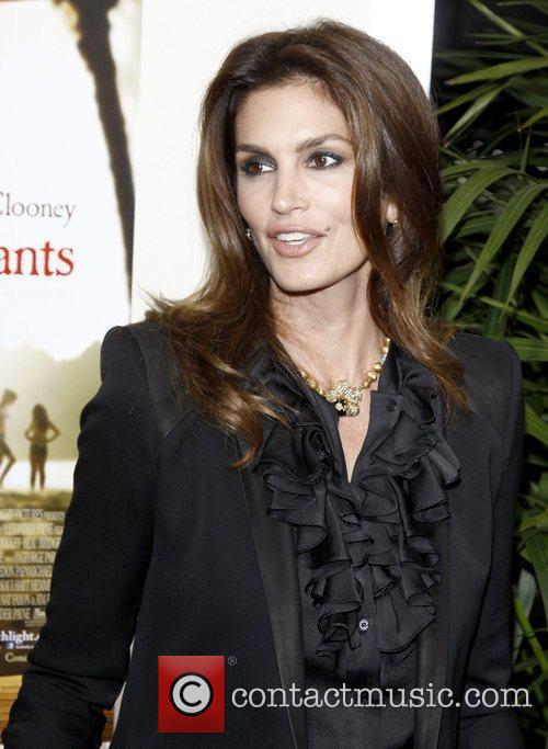 Cindy Crawford Premiere of 'The Descendants' at Samuel...