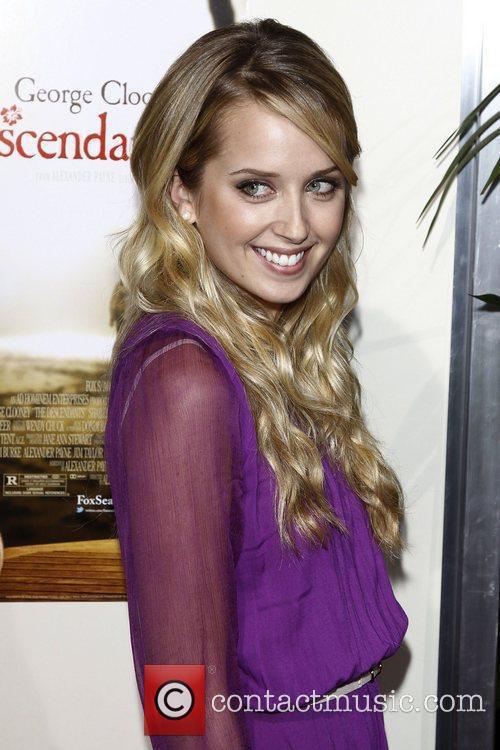 Megan Parks Premiere of 'The Descendants' at Samuel...
