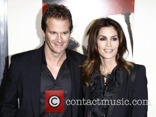 Rande Gerber and Cindy Crawford Premiere of 'The...