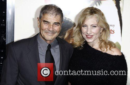 Robert Forster and actress Denise Grayson Premiere of...