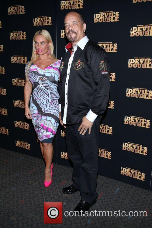Coco and Ice-T the New York premiere of...