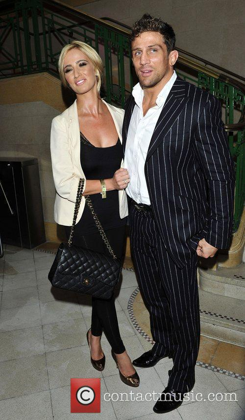 Chantelle Houghton and Alex Reid at the DVD...