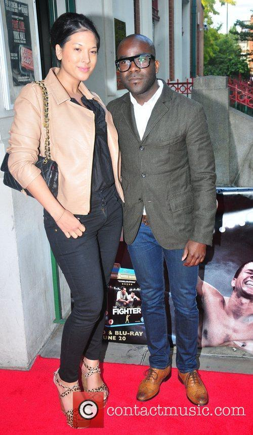 Melvin Odoom and guest at the DVD launch...