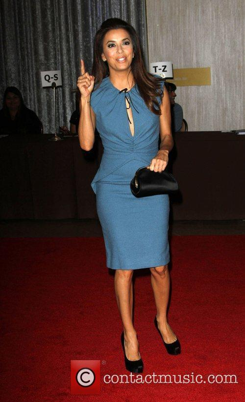 Eva Longoria and Beverly Hilton Hotel 1