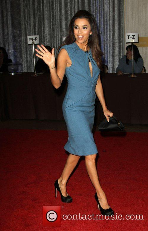 Eva Longoria and Beverly Hilton Hotel 2