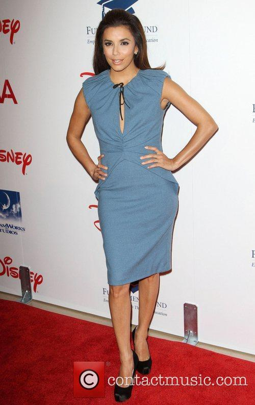 Eva Longoria and Beverly Hilton Hotel 4