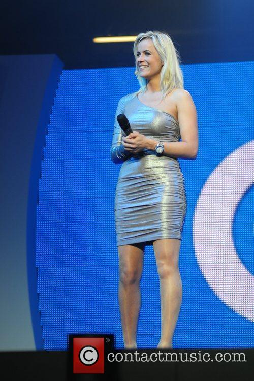 Pollyanna Woodard presenting The Gadget Show Live, Birmingham....