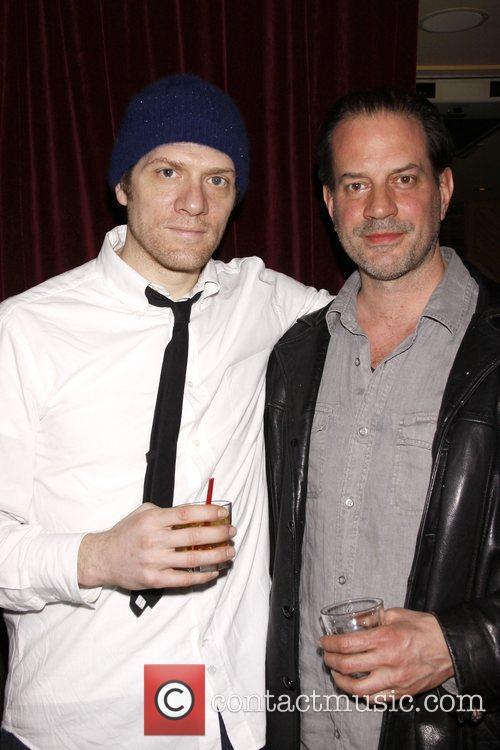 Adam Rapp and Danny Mastrogiorgio Opening night after...