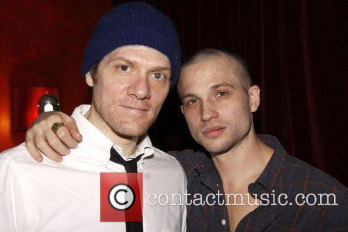 Adam Rapp and Logan Marshall-Green Opening night after...