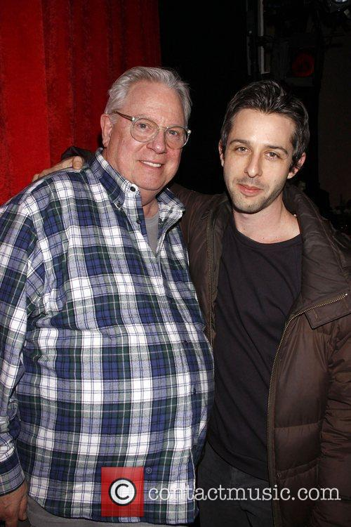 Guy Boyd and Jeremy Strong Opening night after...