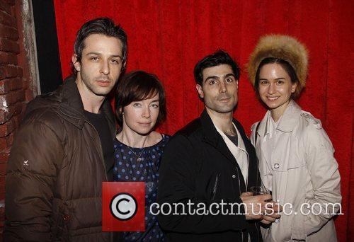 Jeremy Strong, Julianne Nicholson, Louis Cancelmi and Katherine...