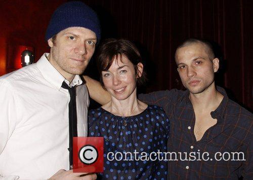 Adam Rapp, Julianne Nicholson and Logan Marshall-Green Opening...