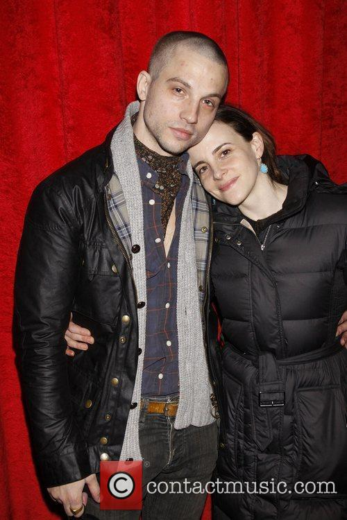 Logan Marshall-Green and Maria Dizzia Opening night after...