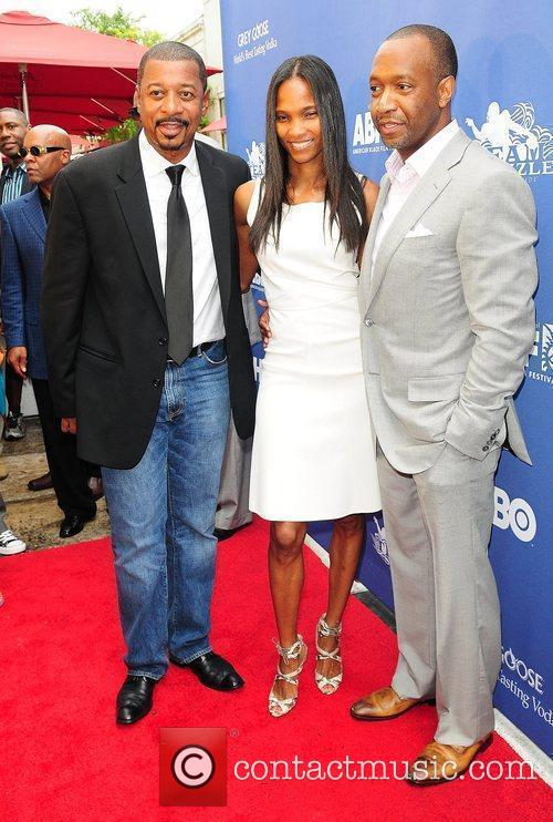 Robert Townsend, Nicole Friday and Jeff Friday...