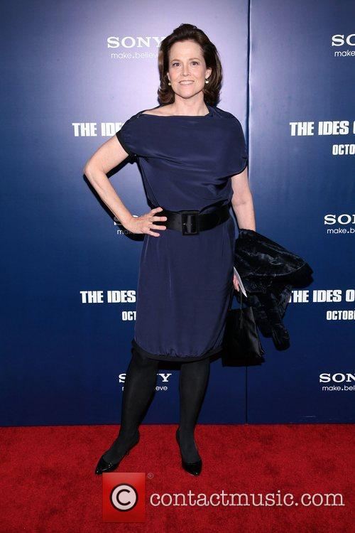 New York premiere of 'The Ides of March'...