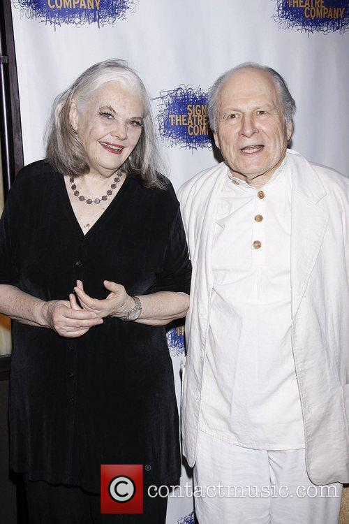 Lois Smith and David Margulies  Opening night...