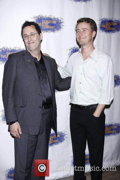 Tony Kushner and Edward Norton 2
