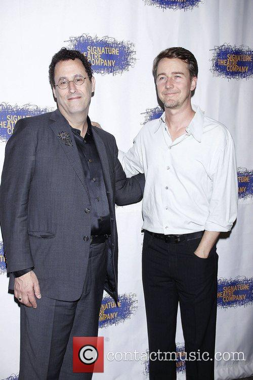 Tony Kushner and Edward Norton 1