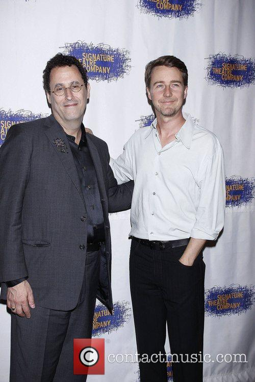 Tony Kushner and Edward Norton 5