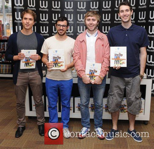 The Inbetweeners Yearbook - book signing at Waterstone's...