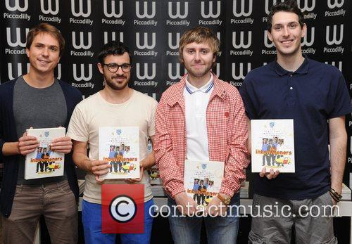 James Buckley, Blake Harrison, Joe Thomas, Simon Bird and Waterstone's In Piccadilly 3