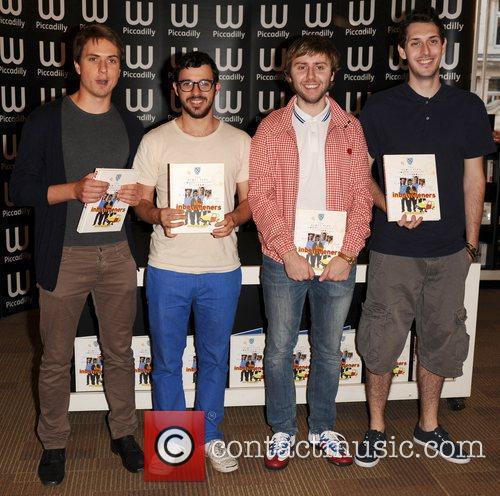 Joe Thomas, Simon Bird, James Buckley, Blake Harrison, Inbetweeners Yearbook Signing