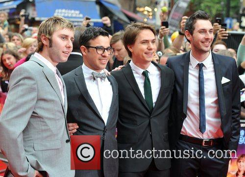 Simon Bird, Blake Harrison, James Buckley and Joe Thomas 8