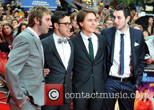 Simon Bird, Blake Harrison, James Buckley and Joe Thomas 9
