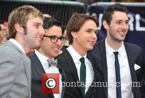 Simon Bird, Blake Harrison, James Buckley and Joe Thomas 10
