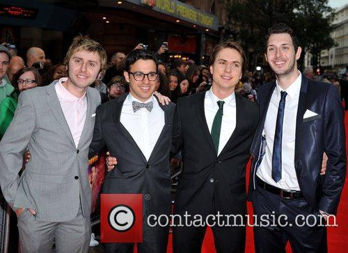 Simon Bird, Blake Harrison, James Buckley and Joe Thomas 8
