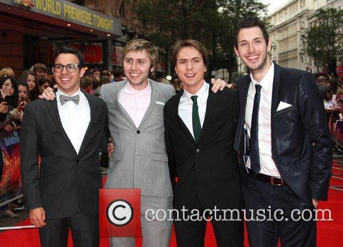 Simon Bird, Blake Harrison, James Buckley and Joe Thomas 3